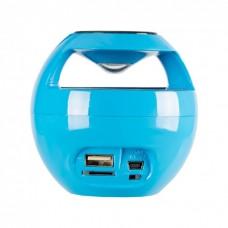 Колонка портативная Bluetooth Wster WS-136 Blue