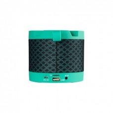 Колонка портативная Bluetooth SK J-41BT Clock Green