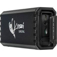 Колонка портативная Bluetooth Krazi Orca KZBS-002 Black