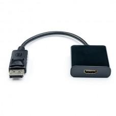 Переходник DisplayPort-HDMI Atcom 0.1m Black