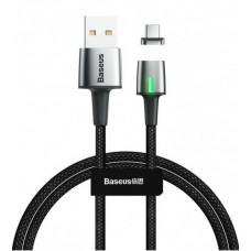 Кабель USB-Type-C Baseus Zinc Fabric Magnetic 2A 2m (CATXC-B01) Black