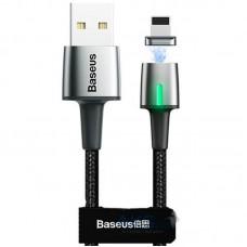 Кабель USB-Lightning Baseus Zinc Fabric Magnetic iPhone 8 CALXC-A01 1m Black