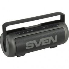 Колонка портативная Bluetooth Sven PS-250BL Black