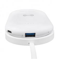УМБ Power Bank Konfulon 8000mAh Wireless White (LP9273)