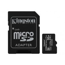 Карта памяти MicroSDHC 32GB UHS-I Class 10 Kingston Canvas Select Plus R100MB/s + Adapter SD
