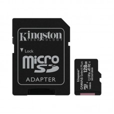 Карта памяти MicroSDXC 128GB UHS-I Class 10 Kingston Canvas Select Plus R100MB/s + Adapter SD