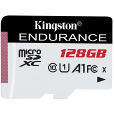 Карта памяти MicroSDXC 128GB UHS-I Class 10 Kingston High Endurance (SDCE/128GB)