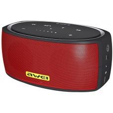 Колонка портативная Bluetooth Awei Y210 Red