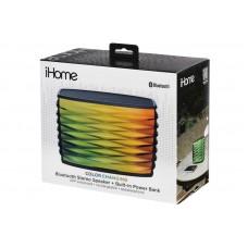 Колонка портативная Bluetooth iHome iBT85 Color Changing Black (IBT85BE)
