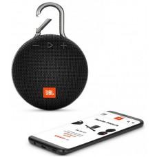 Колонка портативная Bluetooth JBL Clip 3 Midnight Black (JBLCLIP3BLK)