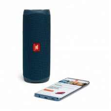Колонка портативная Bluetooth JBL Flip 5 Blue (JBLFLIP5BLU)