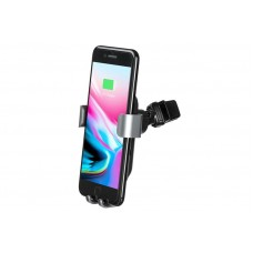 Автодержатель Wireless 2E Gravity Car Mount 10W Black (2E-WCQ01-05)