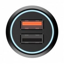 Адаптер автомобильный 70mai Dual 2USB Car QC3.0 Black (Midriver CC02)