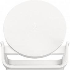 Беспроводное зарядное устройство Belkin Qi Wireless Charging Fast Stand 10W White (F7U083VFWHT)
