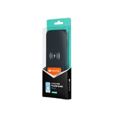 УМБ Power Bank Canyon Wireless 8000mAh CNS-TPBW8B Black