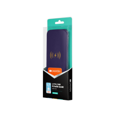 УМБ Power Bank Canyon Wireless 8000mAh CNS-TPBW8P Purple