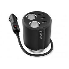 Зарядное устройство автомобильное 70mai Cigarette Lighter Socket Black (Midriver CC03/CC04)