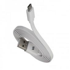 Зарядное устройство сетевое Rivacase 2USB 2.4A White (VA4122 WD1) + cable USB-MicroUSB