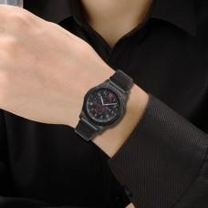 Ремешок нейлон SK Strap для Samsung Xiaomi Huawei Garmin Suunto 20mm Graphite Black
