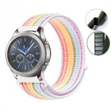 Ремешок нейлон SK Strap для Samsung Xiaomi Huawei Garmin Suunto 20mm Color