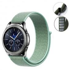 Ремешок нейлон SK Strap для Samsung Xiaomi Huawei Garmin Suunto 20mm Turquoise