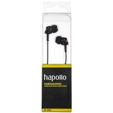 Наушники вакуумные Hapollo EP-2020 Black