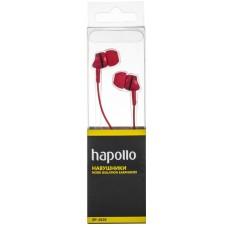 Наушники вакуумные Hapollo EP-2020 Red