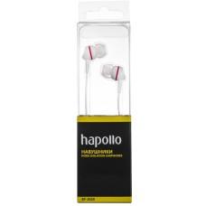 Наушники вакуумные Hapollo EP-2020 White