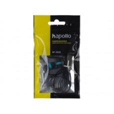 Наушники вакуумные Hapollo EP-3030 Blue