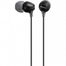 Наушники вакуумные Sony MDR-EX15LP Black