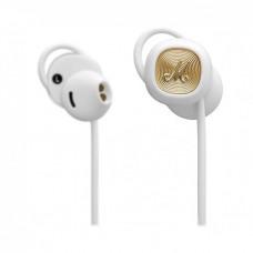 Наушники гарнитура вакуумные Bluetooth Marshall Minor II White (4092261)
