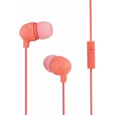 Наушники гарнитура вакуумные Marley Little Bird Peach Pink (EM-JE061-PH)