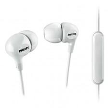 Наушники гарнитура вакуумные Philips SHE3555WT/00 White
