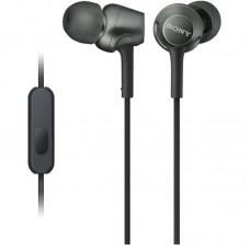 Наушники гарнитура вакуумные Sony MDR-EX255AP Black (MDREX255APB.E)