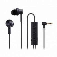 Наушники гарнитура вакуумные Xiaomi Mi Noise Canceling Black (ZBW4386TY)