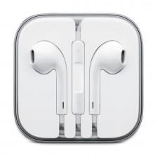 Наушники гарнитура вкладыши Apple EarPods Lightning White (MMTN2ZM/A)