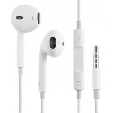 Наушники гарнитура вкладыши Apple EarPods White (MNHF2ZM/A)