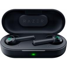 Наушники гарнитура вкладыши Bluetooth Razer Hammerhead True Black