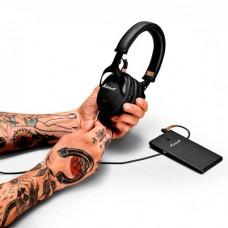 Наушники гарнитура накладные Bluetooth Marshall Monitor Black (4091743)