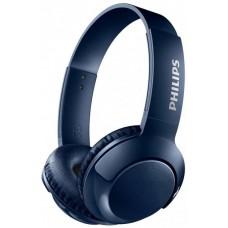 Наушники гарнитура накладные Bluetooth Philips SHB3075BL/00 Blue