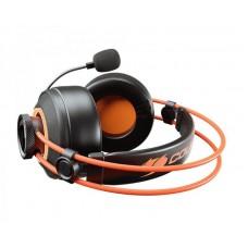 Наушники гарнитура накладные Cougar Immersa Pro Ti Black/Orange