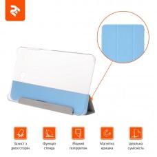 Чехол книжка PU 2E Case для Samsung Tab A 10.1 T580 Deep Blue TR (2E-GT-A10.1-MCCDBT)