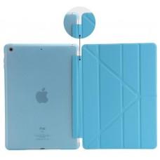 Чехол книжка PU 2E Y-case для Apple iPad 9.7 2017 2018 Deep Blue TR (2E-IP-2018-MCYCDBT)