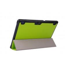 Чехол книжка PU Airon Premium для Lenovo Tab 2 A10 Green (4822352770013)