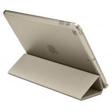 Чехол книжка PU Spigen Smart Fold для Apple iPad 9.7 2018 Gold (053CS23066)