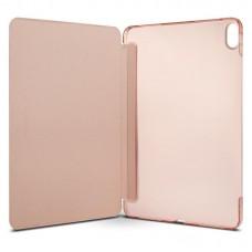 Чехол книжка PU Spigen Smart Fold для Apple iPad Pro 12.9 2018 Rose Gold (068CS25713)