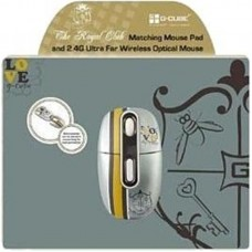 Мышь Wireless G-Cube G4MR-1020RR Royal Romance Silver USB