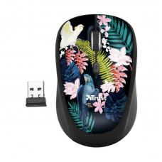 Мышь Wireless Trust Yvi Parrot (23387) Black USB