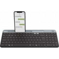 Клавиатура Logitech K580 Slim Multi-Device Wireless Graphite USB Black (920-009275)