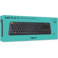 Клавиатура Logitech Wireless Touch Keyboard K400 Plus RUS Black (920-007147)